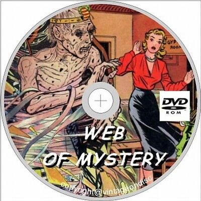 Web Of Mystery Issues 1 -29 Full Run On Dvd Rom