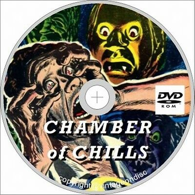 Chamber of Chills Us Horror Comics 52 Assorted issues on Dvd