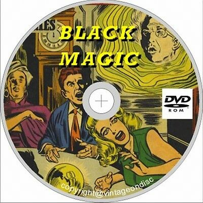 Black Magic Comic 50 Assorted issues on Dvd