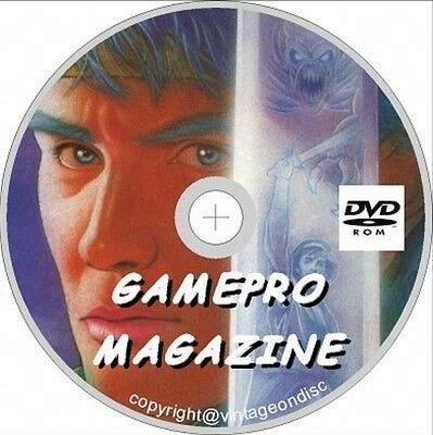 GamePro Magazine Usa Video game Magazine Collection 120 + Issues On Dvd Rom