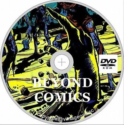 The Beyond Comic 30  issues Full run on disc Horror US