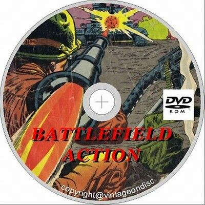Battlefield Action & Associated Comics on dvd 1-88 Full run