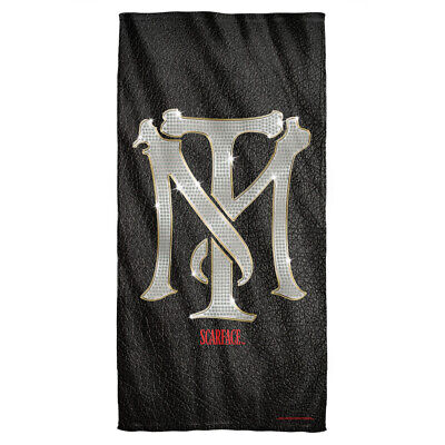 Scarface Monogram Licensed Beach Towel 60in by 30in