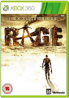 Xbox 360 - Rage (Makers Of Doom & Quake) **New & Sealed** Xbox One Compatible