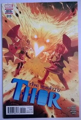 The Mighty Thor #19, Marvel Comics 1st Print, COVER A, Jane Foster, Jason Aaron.