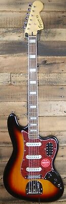 NEW Squier by Fender Vintage Modified Bass VI Electric Baritone Guitar -3TSB
