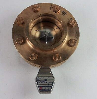 "BS&B 4"" Rupture Disk With Brass Flange Disk Holder"