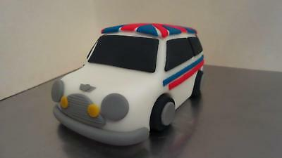 Handmade Edible Fondant Customised Mini Car Birthday Retirement