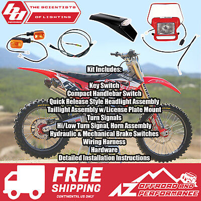 BAJA DESIGNS |HONDA CRF80/100 & XR8 Dual Sport Kit,EZ Mount ... on
