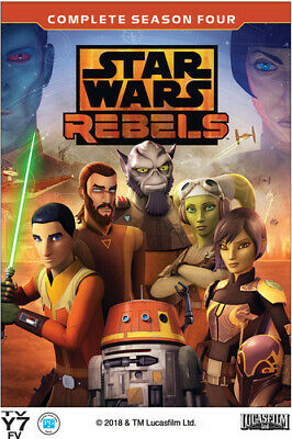 Star Wars Rebels: Complete Season 4 - 3 DISC SET (REGION 1 DVD New)