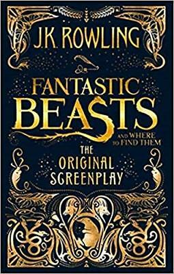 Fantastic Beasts and Where to Find Them: The  by J.K. Rowling New Paperback Book