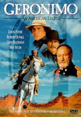 Geronimo: An American Legend (DVD, 1998, English and French Subtitles Closed Cap