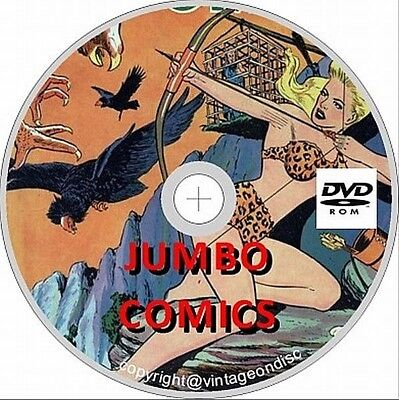 Jumbo Comics Issues 1 - 167 On DVD Rom