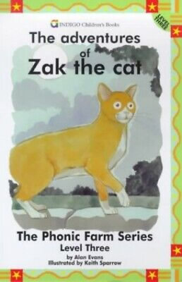 The Adventures of Zak the Cat: Level Three (The phon... by Evans, Alan Paperback