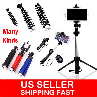 Mini Portable Flexible Tripod Octopus Stand Gorilla Pod For iPhone X 8 7 Sumsung