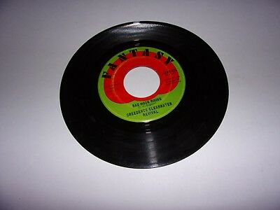 Creedence Clearwater Revival: Bad Moon Rising / Lodi / 45 Rpm / 1969 / VG+