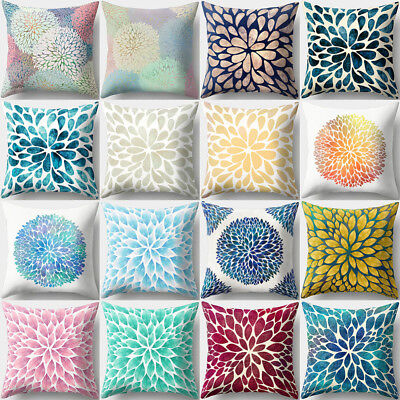 QA_ Geometric Ptint Waist Throw Pillow Case Sofa Bed Cushion Cover Home Decor