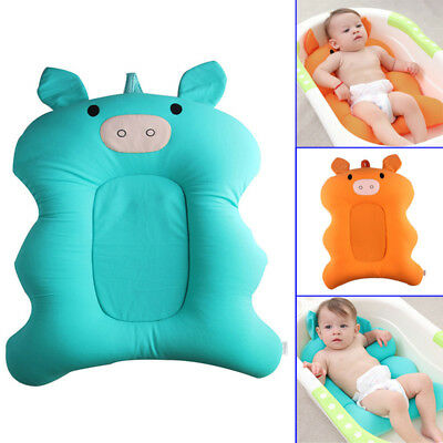 Baby Bath Tub Pillow Pad Air Cushion Mat Floating Soft Seat Infant Newborn AU