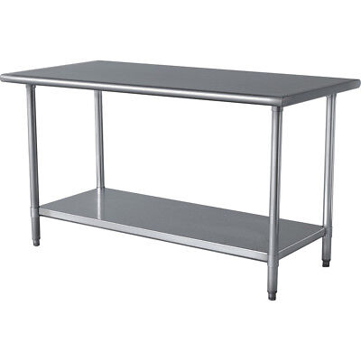 Commercial Stainless Steel Work Table 15 x 24 - NSF