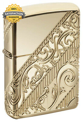 Zippo Golden Scroll 2018 Collectible of the Year Windproof Pocket Lighter