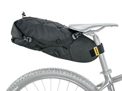 Topeak BackLoader Bikepacking Rear Seat Pack Large Capacity Saddle Bag: 3 Sizes