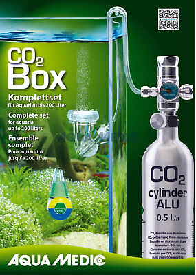 Aqua Medic CO2 Box Aquarium CO2 Anlage