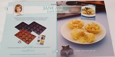 KitchenCraft Jane Asher Sweetly Does It Easy Pie Set Baking Pies Apple Mince
