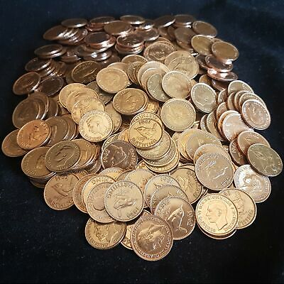 Bulk Lot Clean Farthing Coins Mixed Years Choose Quantity 10 - 1000 Farthings