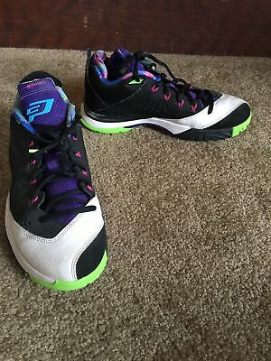 new styles 630e0 06e15 NIKE JORDAN CP3 VII YOUTH Size 5Y Boys Athletic Shoes 616807-015 ...