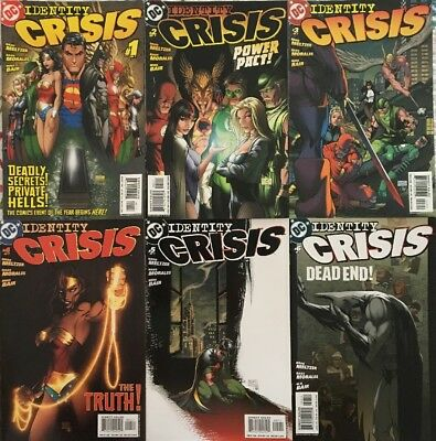 DC Identity Crisis 1-7 And Countdown To Identity Crisis