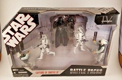 2006 Star Wars Battle Packs Capture of Tantive IV 30th Anniversary Sealed in Box