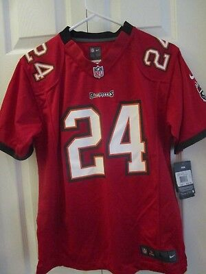 bf5646f2c Nike NFL Football Tampa Bay Buccaneers Boys  Youth On Field Jersey Red MSRP   70