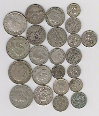 British Colonies Silver Coin Lot