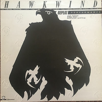 "HAWKWIND • ""Repeat Performance"" LP (Charisma 1980 UK) Unique compilation!"