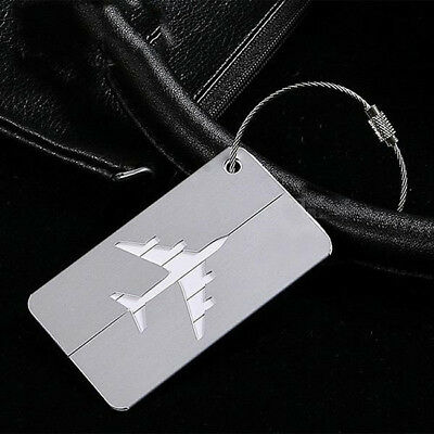 Travel Tag For Luggage Baggage Handbag Labels Suitcase Aluminum Alloy 8C