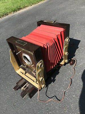 Noba Vintage 4x5 Large Wooden Camera Rare Model 5