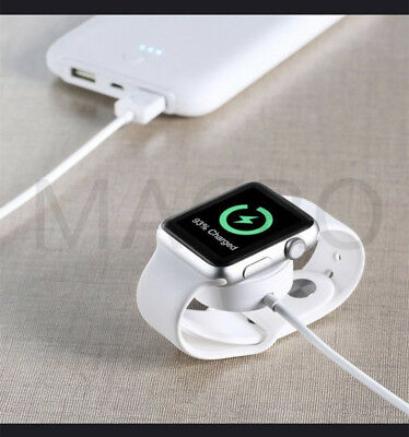Apple Watch iWatch Charger Cable Charging Cord for Series 1, 2, 3, (6 ft) 2meter