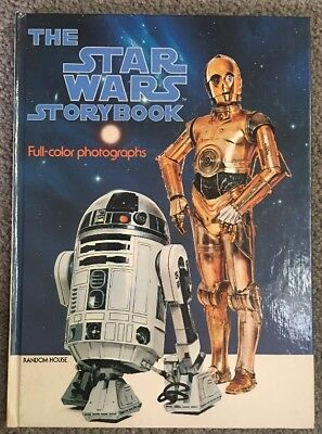 Vintage The Star Wars Story Book Full Color Photographs 1978