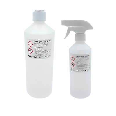 IPA 99.9% / RUBBING ALCOHOL 70% | 500mL, 1 LITRE | Isopropyl Alcohol/Isopropanol