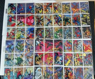 1994 Amazing Spiderman fleer 150 complete set