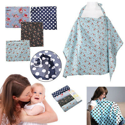QA_ NE_ Baby Mum Breastfeeding Cover Cotton Nursing Udder Apron Blanket Shawl