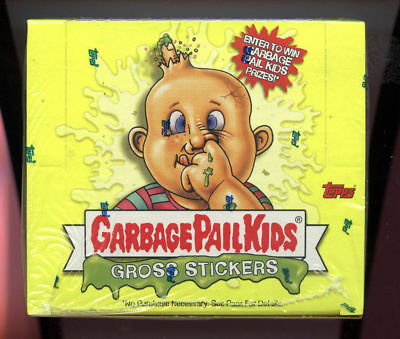 2003 Topps Garbage Pail Kids All-New Series 1 ANS Card Set GPK Wax Pack Box