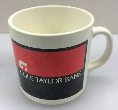 Cole Taylor Bank Coffee Mug Tea Cup Chicago Illinois IL
