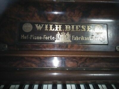 Wilh.Biese Piano no 7859