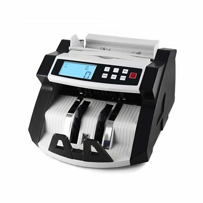 Box Cash Register Automatic Multifunction LCD Counters Detection Euro Dollar