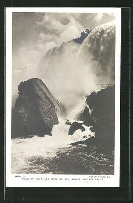 Rock of Ages and Cave of the Winds, Niagara Falls, Wasserfall, Ansichtskarte