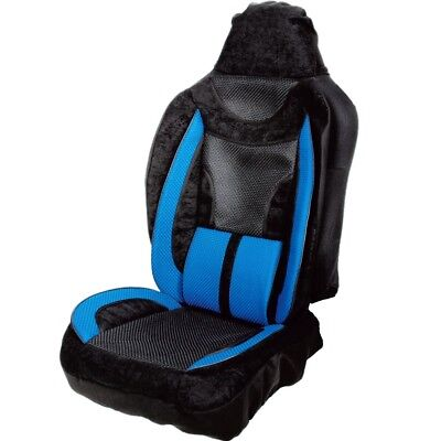 Simply Lumbar Support Car Seat Cover - Improve Seat Comfort & Relieve Back Pain