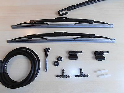 Windscreen Washer Jets Conversion Kit DEFENDER  (Clip to Wiper Arms - Blades)