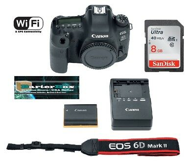 CANON EOS 6D Mark II DSLR Camera (Body Only) 64GB Bundle