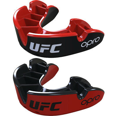 OPRO UFC Junior Silver Sparring Level Self-Fit Gel Comfort Mouthguard